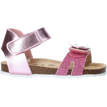 Buty Dziewczynka Sandały Grunland SB1545 Różowy