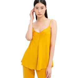 tekstylia Damskie Topy / Bluzki Fracomina FR20SM551 Żółty