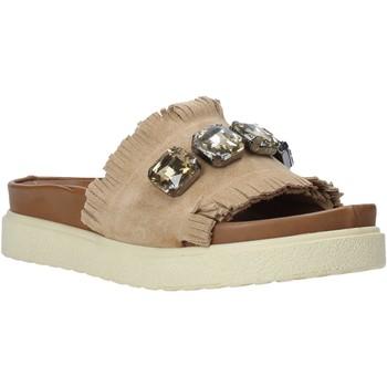 Buty Damskie Klapki Bueno Shoes CM2217 Beżowy