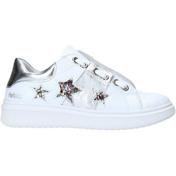 Buty Dziewczynka Trampki niskie Holalà HS0065L Biały