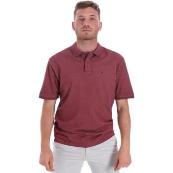 tekstylia Męskie Koszulki polo z krótkim rękawem Les Copains 9U9016 Czerwony