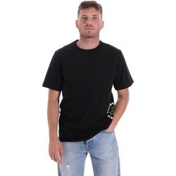 tekstylia Męskie T-shirty z krótkim rękawem Converse 10018872-A03 Czarny
