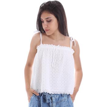 tekstylia Damskie Topy / Bluzki Pepe jeans PL303720 Biały