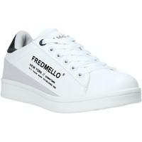 Buty Dziecko Trampki niskie Fred Mello S20-SFK313 Biały