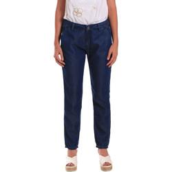 tekstylia Damskie Jeansy Gaudi 811BD26028 Niebieski