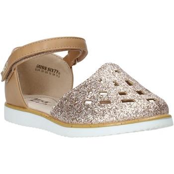 Buty Dziewczynka Sandały Miss Sixty S20-SMS763 Brązowy