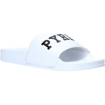 Buty Męskie klapki Pyrex PY020167 Biały