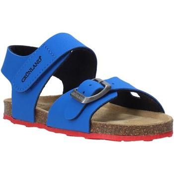 Buty Dziecko Sandały Grunland SB0372 Niebieski
