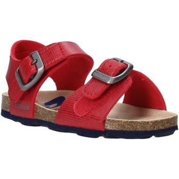 Buty Dziecko Sandały Grunland SB1534 Czerwony