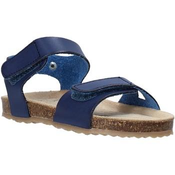 Buty Dziecko Sandały Grunland SB1550 Niebieski