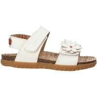 Buty Dziewczynka Sandały Grunland SB1564 Biały
