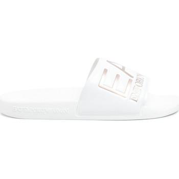 Buty Damskie klapki Ea7 Emporio Armani XCP001 XCC22 Biały