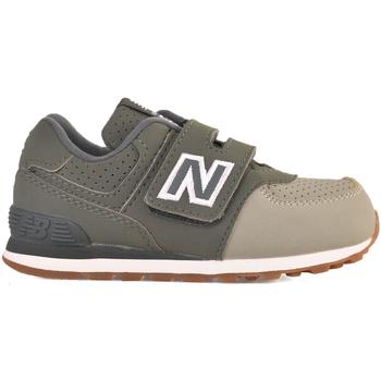 Buty Dziecko Trampki niskie New Balance NBIV574BUC Zielony