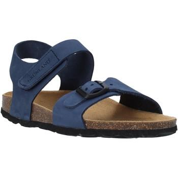 Buty Dziecko Sandały Grunland SB0236 Niebieski