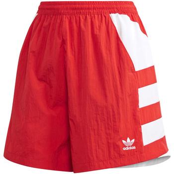 tekstylia Damskie Szorty i Bermudy adidas Originals FM2637 Czerwony
