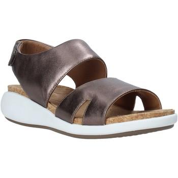 Buty Damskie Sandały Clarks 26140357 Brązowy