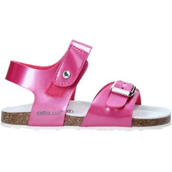 Buty Dziecko Sandały Grunland SB0375 Różowy