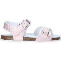 Buty Dziewczynka Sandały Grunland SB0812 Różowy