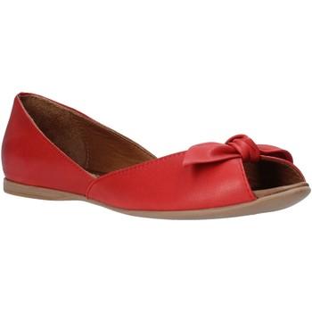 Buty Damskie Baleriny Bueno Shoes N0712 Czerwony