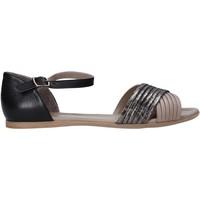Buty Damskie Sandały Bueno Shoes N0734 Czarny