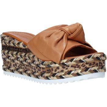 Buty Damskie Klapki Bueno Shoes N3604 Brązowy