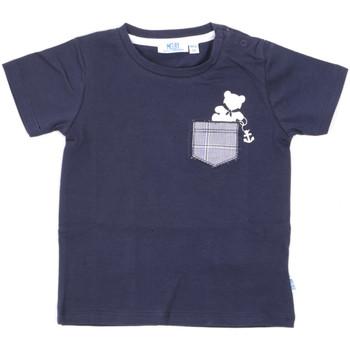 tekstylia Dziecko T-shirty z krótkim rękawem Melby 20E5070 Niebieski
