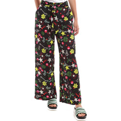 tekstylia Damskie Spodnie z lejącej tkaniny / Alladynki Liu Jo WA0058 T9147 Czarny