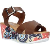 Buty Damskie Sandały Grace Shoes 12 Brązowy