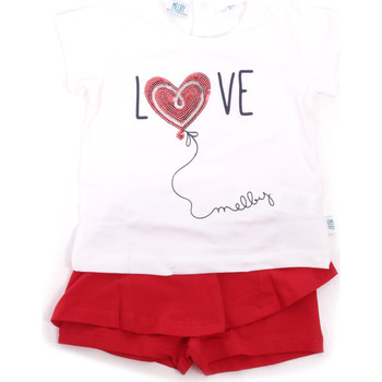 tekstylia Dziewczynka Komplet Melby 20L7001 Czerwony