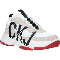 Buty Damskie Trampki niskie Calvin Klein Jeans B4R0869 Biały