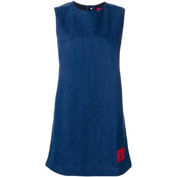 tekstylia Damskie Sukienki krótkie Calvin Klein Jeans J20J207406 Niebieski