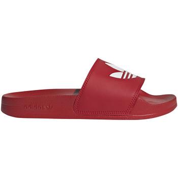 Buty Dziecko klapki adidas Originals FU9179 Czerwony