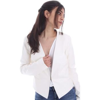 tekstylia Damskie Kurtki lekkie Gaudi 011FD38004 Biały