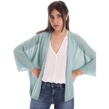 tekstylia Damskie Swetry rozpinane / Kardigany Gaudi 011FD53010 Niebieski