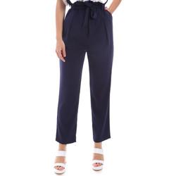tekstylia Damskie Chinos Gaudi 011BD25040 Niebieski