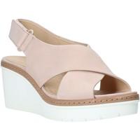 Buty Damskie Sandały Clarks 26141165 Różowy