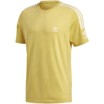 tekstylia Męskie T-shirty z krótkim rękawem adidas Originals FM3812 Żółty