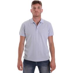 tekstylia Męskie Koszulki polo z krótkim rękawem Navigare NV82108 Niebieski
