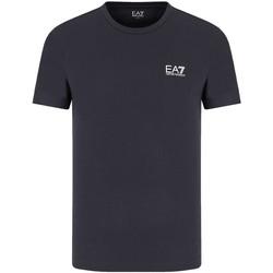 tekstylia Męskie T-shirty z krótkim rękawem Ea7 Emporio Armani 8NPT51 PJM9Z Niebieski