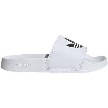 Buty Dziecko klapki adidas Originals EG8272 Biały