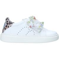 Buty Dziewczynka Trampki niskie Melania ME2274D0S.A Biały