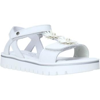 Buty Dziewczynka Sandały Melania ME6009F0S.A Biały