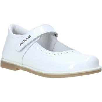 Buty Dziewczynka Baleriny Melania ME2139D0S.E Biały