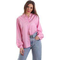 tekstylia Damskie Koszule Versace B0HVB62307619445 Różowy