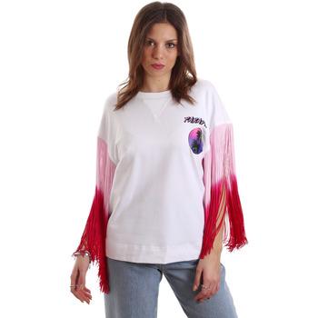 tekstylia Damskie T-shirty z krótkim rękawem Versace B2HVB71511701003 Biały