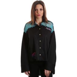 tekstylia Damskie Koszule Versace B0HVB60310623899 Czarny