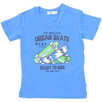tekstylia Dziecko T-shirty z krótkim rękawem Melby 20E7370 Niebieski