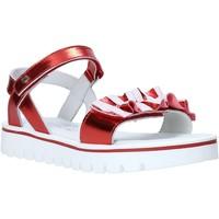 Buty Dziewczynka Sandały Melania ME6044F0S.C Czerwony