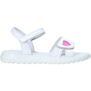 Buty Dziewczynka Sandały Melania ME6070F0S.A Biały