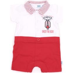 tekstylia Dziewczynka Kombinezony / Ogrodniczki Melby 20P7370 Czerwony